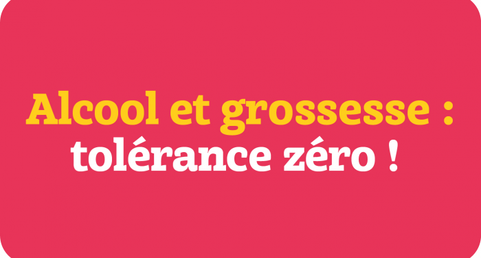 Infographie grossesse et alcool